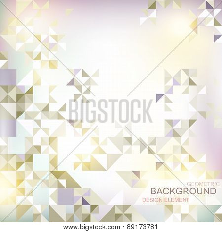 abstract background with geometric elements and