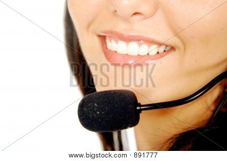 Customer Service Close Up