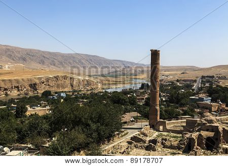 Ulu Mosque In Hasankeyf