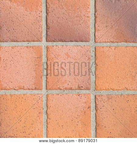 earthenware floor tile