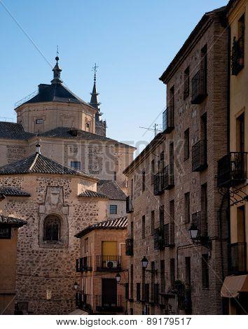 Toledo Roofs. Spain