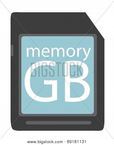 Memory Flash. Vector Illustration