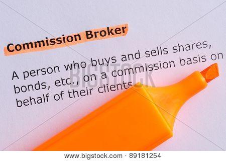 Commission Broker