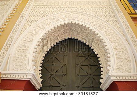 Moorish archway, Seville.