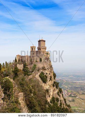 Rocca Della Guaita, ancient fortress of San Marino