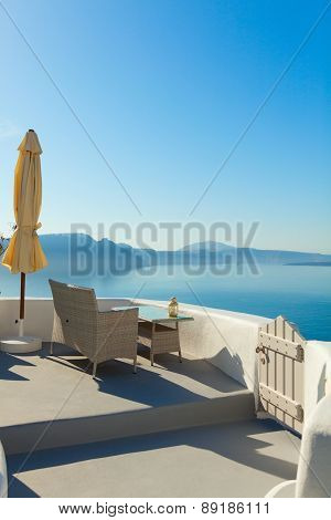 Summer Resort In Oia, Santorini