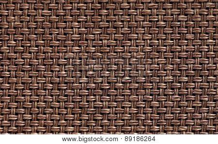 Background Brown Braided Jute Type