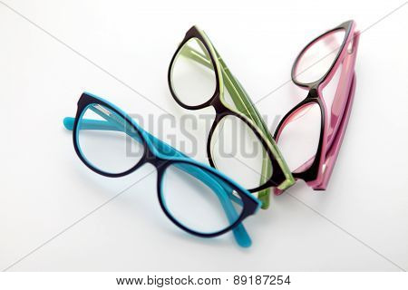 Composition Of Colored Glasses