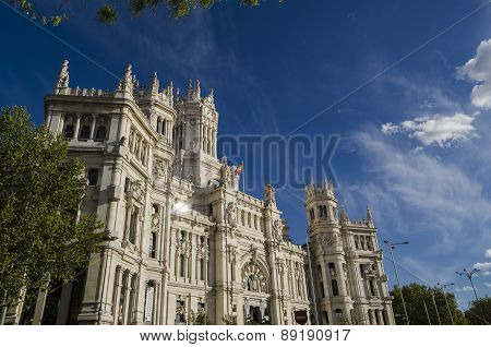 Palace in Madrid, Spain
