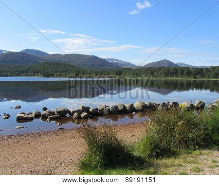 Beautiful Loch Morlich, Scotland