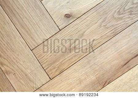 Floor light colored wooden detail close