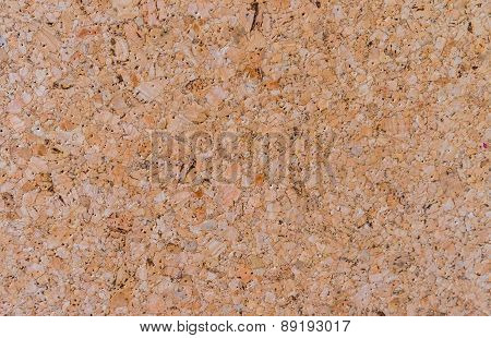 Close Up Of Cork Board Texture