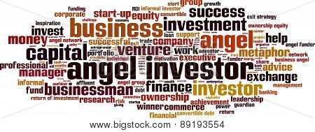 Angel Investor Word Cloud