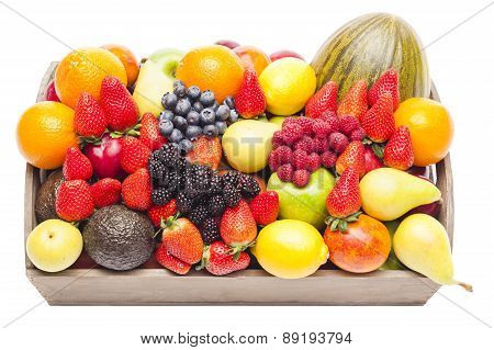 Box Full Of Fruits