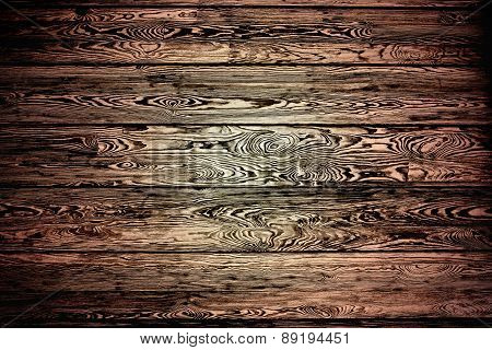 brown background of boards