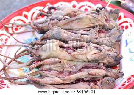 Rats Fresh For Cooking