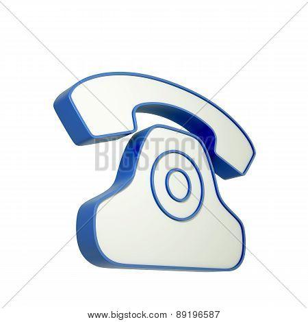 3D Phone Icon
