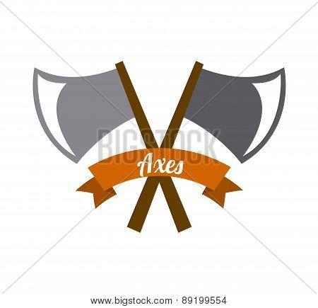 camping design over white  background vector illustration