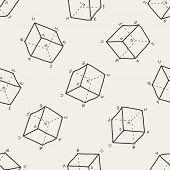 stock photo of math  - Math Doodle - JPG