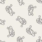 image of raft  - Rafting Doodle - JPG