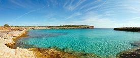 stock photo of gozo  - blue lagoon Comino island Malta Gozo - JPG