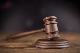 stock photo of punish  - Court gavel - JPG