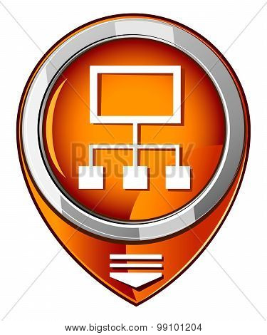 Network Orange Pointer