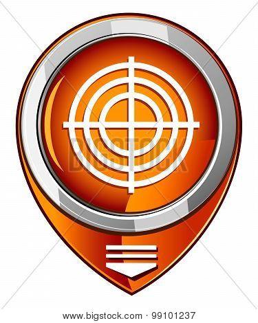 Target Orange Pointer