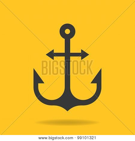 Icon Of Anchor