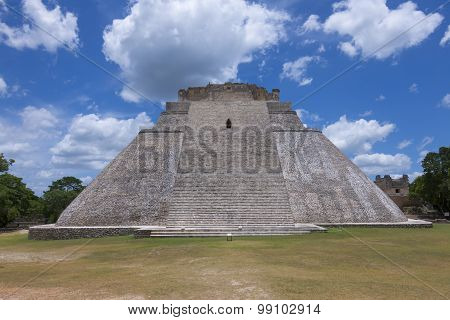 Maya City Of Uxmal