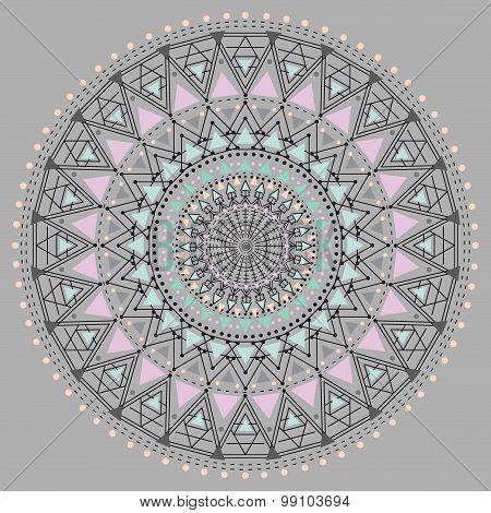 Geometric Hipster Circle Z4