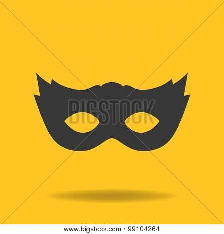 Icon Of Masquerade Mask