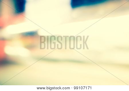 Artistic style - Defocused urban abstract texture background for your design