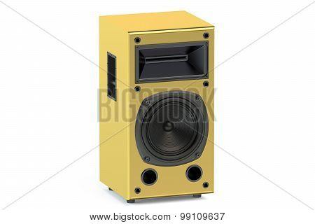 Gold Loudspeaker