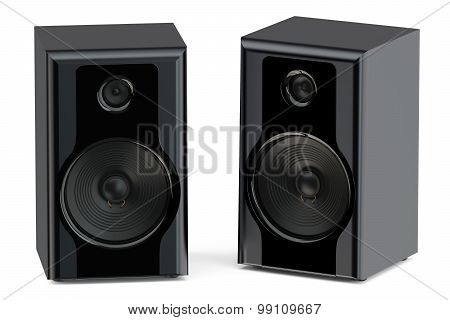 Two Loudspeakers