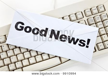Good News And Computer Keyboard