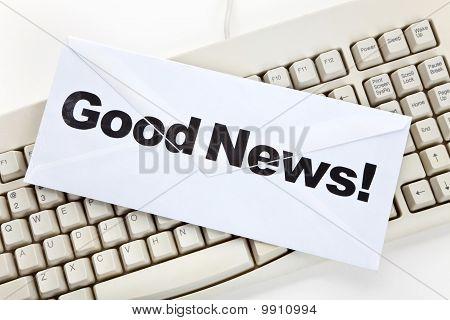 Good News And Computer Keyboard