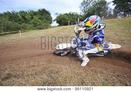 Motocross in Sariego.