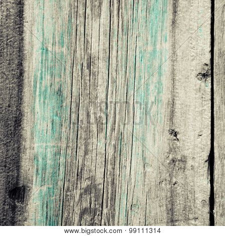 Unpainted Shabby Wooden Wall