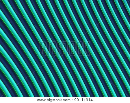 Gradient Green Stripes
