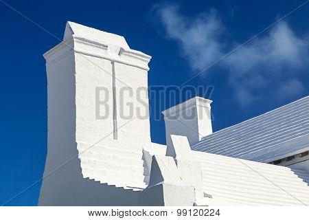 The unique architecture of Bermuda homes.