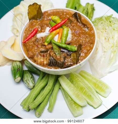 Preserved Vegetables ,thai Food