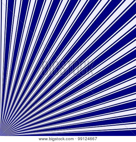 Navy Color Stripe Funky Sun Rays Backgound