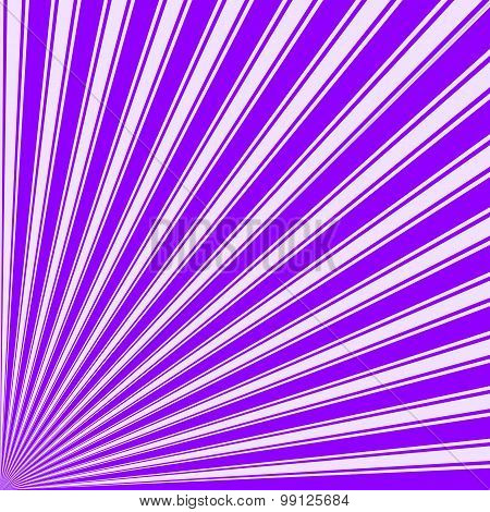 Violet Color Stripe Funky Sun Rays Backgound