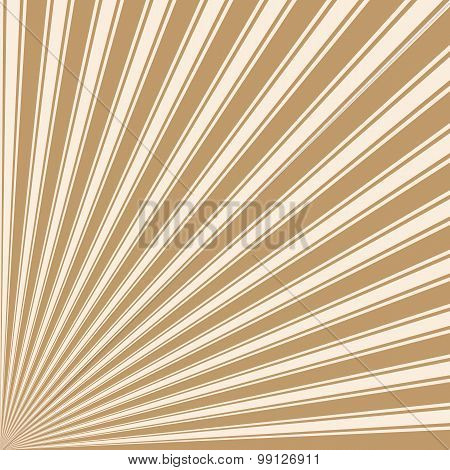 Wood brown Color Stripe Funky Sun Rays Backgound