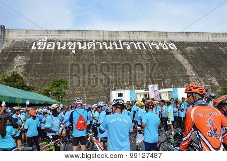 Bike for mom event in Thailand