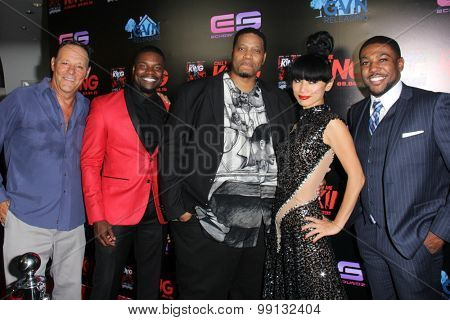 LOS ANGELES - AUG 17:  Chris Mulkey, Amin Joseph, R.L. Scott, Bai Ling, Sean Riggs at the