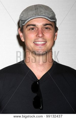 LOS ANGELES - AUG 16:  Darin Brooks at the Bold and Beautiful Fan Event Sunday at the Universal Sheraton Hotel on August 16, 2015 in Universal City, CA