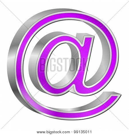 Email symbol 3d