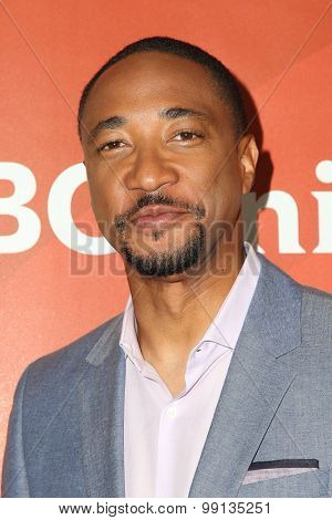 LOS ANGELES - AUG 13:  Damon Gupton at the NBCUniversal 2015 TCA Summer Press Tour at the Beverly Hilton Hotel on August 13, 2015 in Beverly Hills, CA